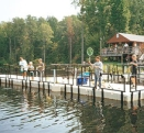EZ Dock Fishing Pier