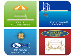 Link to Mid-Atlantic Docks Accessories web site